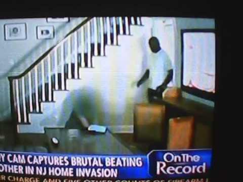 Shocking!! Home Invasion Black Man Beats White Woman video