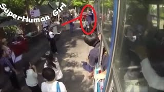 Super Human Girl with unbelievable power - superpowers caught on camera