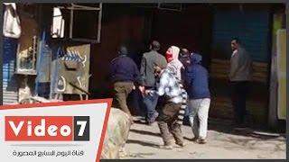 بالفيديو.. عناصر الإخوان يهربون فى الشوارع الجانبية بالمطرية فور وصول قوات الأمن
