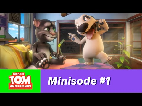 Talking Tom and Friends, minisode 1 - Stop copying me