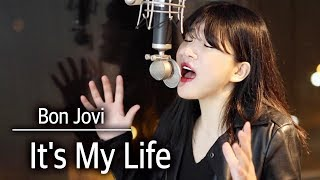 (+5 key up) It's my life- Bon Jovi cover | bubble dia