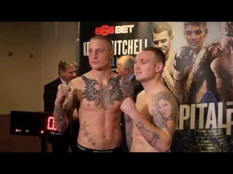 LEE MARKHAM v LEWIS VAN POETSCH - OFFICIAL WEIGH IN VIDEO / CAPITAL PUNISHMENT