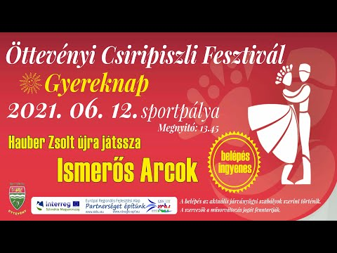 Csiripiszli fesztivál Öttevény 2021 reklám