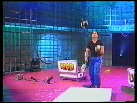 Mad Chad Taylor World Record Chainsaw Juggling