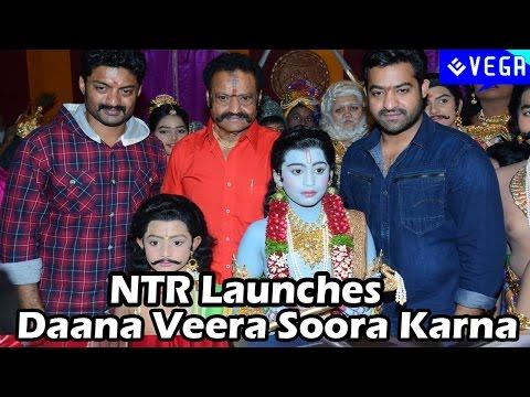 Jr Ntr Launches Daana Veera Soora Karna Movie video