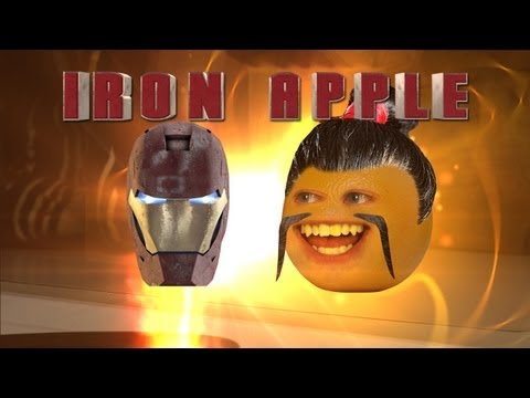 Annoying Orange - Iron Apple (Iron Man 3 Spoof)