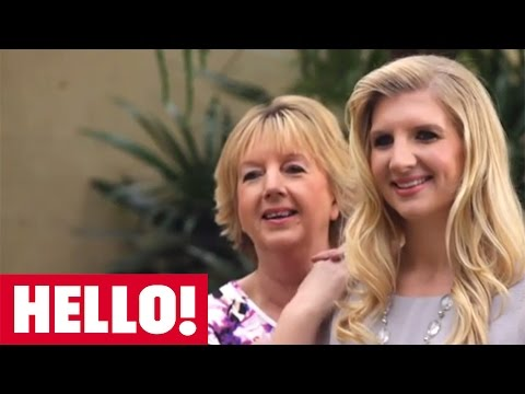 Join Olympic swimmer Rebecca Adlington in her exclusive HELLO! photo shoot with mum!