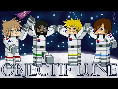 Objectif Lune : CoopTeam r éunie ! | 01 - Minecraft