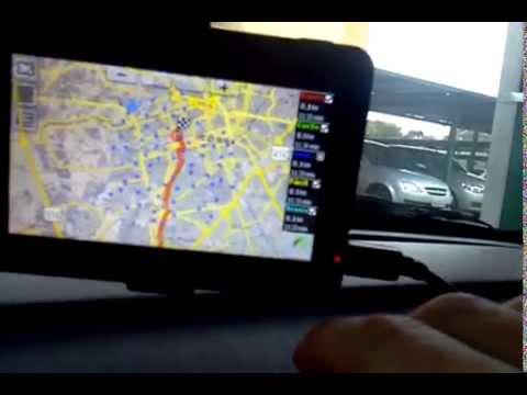 GPS funcionando no carro - Uso avançado do aparelho