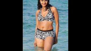 @ @ Tapsee exposing wet swelled panty in bikini in very romantic scene in beach