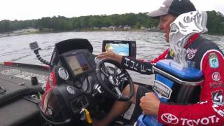 Kevin VanDam talks LakeMaster mapping