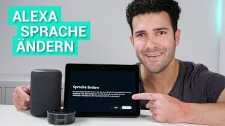 Amazon Echo & Alexa - Sprache ändern - so geht's!