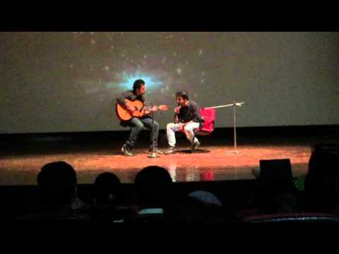 Gulabi Aankhen Acoustic By Syed Abbas At Bbd Udgam…!!!
