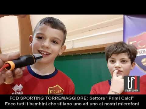FCD sporting Torremaggiore Primi Calci. Intervista ai ragazzi ed ai tecnici