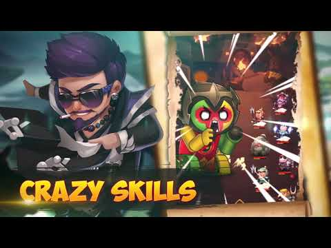 Crazy Gods: Strategy RPG APK Cover