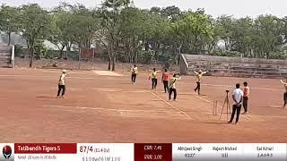 Live Cricket Match | Tatibandh Tigers 5 vs Dagania Dare Devils | 25-Apr-19 06:30 am 15 overs | C...