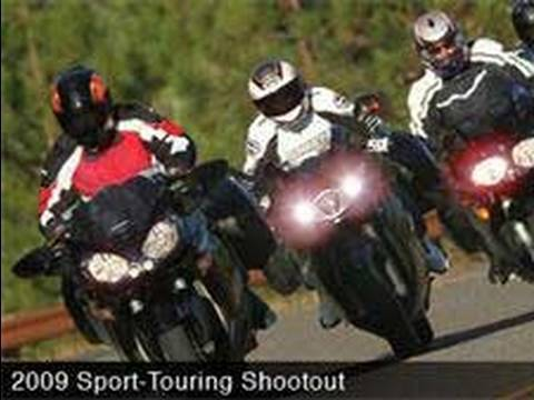 2009 Sport Touring Motorcycle Comparison Review