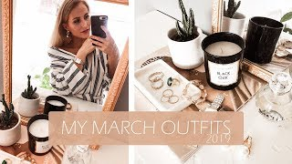 MY MARCH OUTFITS- Scandinavian style inspo | SandraEmilia