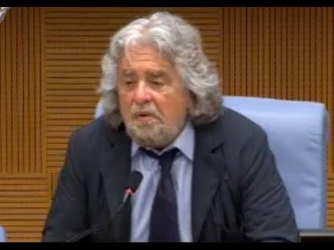 Roma - M5S verso le elezioni europee - Beppe Grillo (15.04.14)