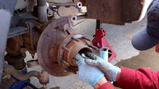 How To Replace Worn Ball Joints Ford F250 Truck