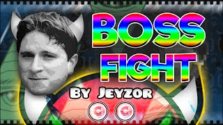 Geometry Dash [2.0] (Demon) - KAPPA BOSS FIGHT by Jeyzor | GuitarHeroStyles