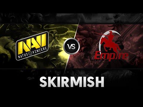Skirmish by NaVi vs Team Empire   RedBull BattleGrounds