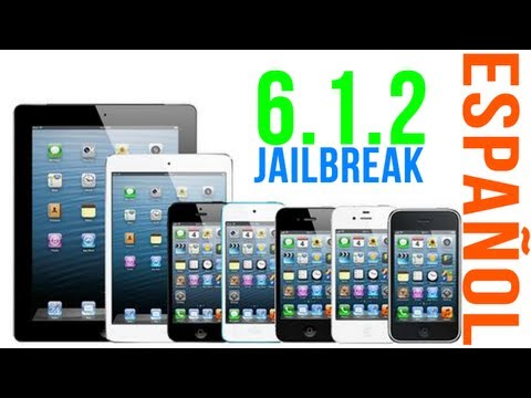 Jailbreak UNTETHERED iPhone 5. 4s. 4. iPod Touch 5. 4 & iPad (iOS 6 / 6.1.2) Español