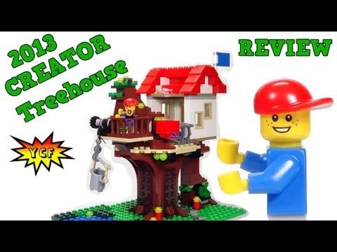 LEGO Treehouse Review & Time-Lapse - 2013 CREATOR Summer Set - LEGO 31010