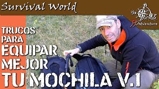 Trucos para equipar tu mochila 1 / backpack tricks video 1 / JJ.Adventure