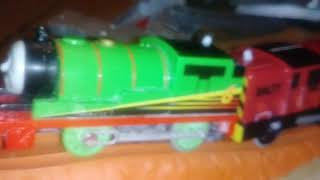 Thomas and friends trackmaster salty was in trouble crashing(2)