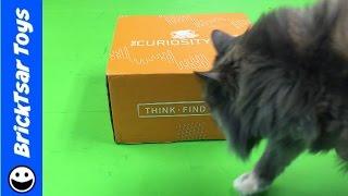 #THECURIOSITYBOX Unboxing VSAUCE Inaugural Edition! Haul! Curiosity Box