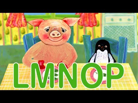 Alphabet ABC Phonics - Part 3: L,M,N,O,P
