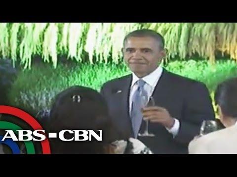President Barack Obama attends State dinner