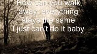baby i will wait for you elliott yamin lyrics