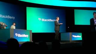 BlackBerry World 2012 Dev Alpha Device BB 10 Multitasking.flv