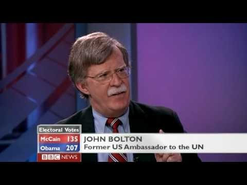 John Bolton pissed off by BBC reporter