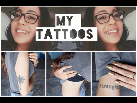 My Tattoos | Kayla Lashae