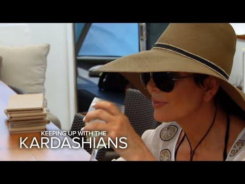 KUWTK   Did Brandon Jenner Kiss Kim Kardashian?   E!