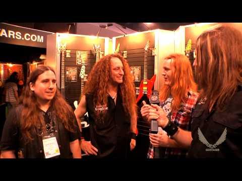 Dean Guitars 2014 N.A.M.M. Interview - Scattered Hamlet / Randy Cooper