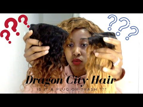 Dragon City Hair Review |Is it a PLUG or Trash| Affordable Hair|South African YouTuber