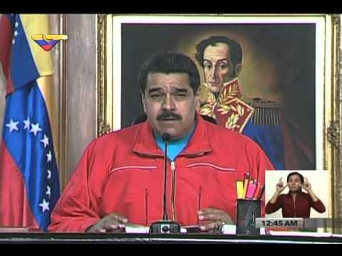 Discurso completo de Nicolás Maduro tras derrota en la Asamblea Nacional, 7 diciembre 2015