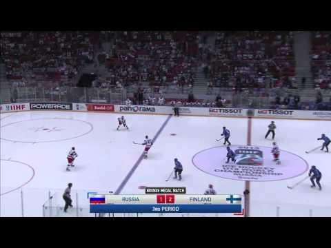 2013 WU18C's bronze medal game Russia - Finland