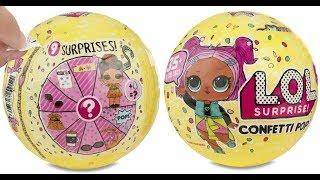 LoL surprise Doll Confetti Pop Series 3 *uitpakken*