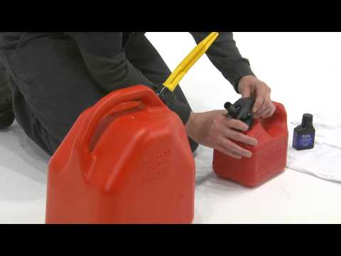How to Mix Two Cycle Fuel for a Husqvarna Backpack Blower