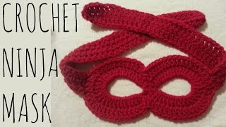 Ninja/Superhero Mask | Crochet Pattern | Costume Creation Tutorial