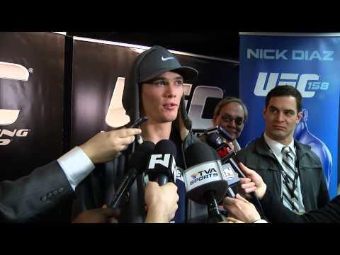UFC 158  Jordan Mein I Knew I Could Finish Dan Miller