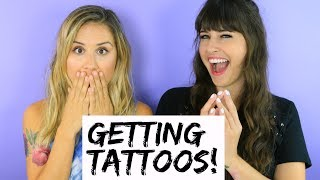 We Got Tattoos! (TRY THE TREND) | Hollywire