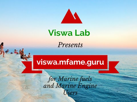 viswa.mfame.guru - For Marine Fuels & Marine Engine Users