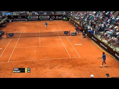 Rome 2014 Thursday Hot Shot Nadal