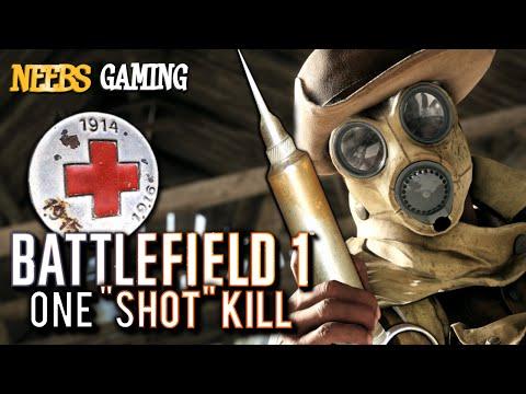 "Battlefield 1 - One ""Shot"" Kill ( Battlefield 1 Gameplay )"